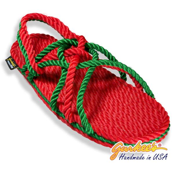 Signature Neptune Christmas Rope Sandals