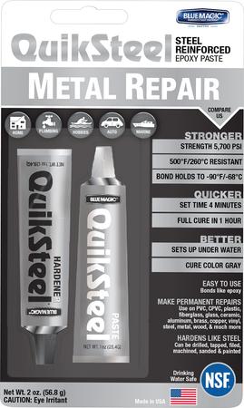 17002TRI | Quiksteel Paste Steel B/C
