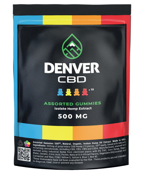 Denver Gummies 500 MG
