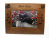 4 Paws Photo Frame - Natural Walnut with Yarn Balls
