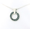 Infinity Pendant with Raised Details