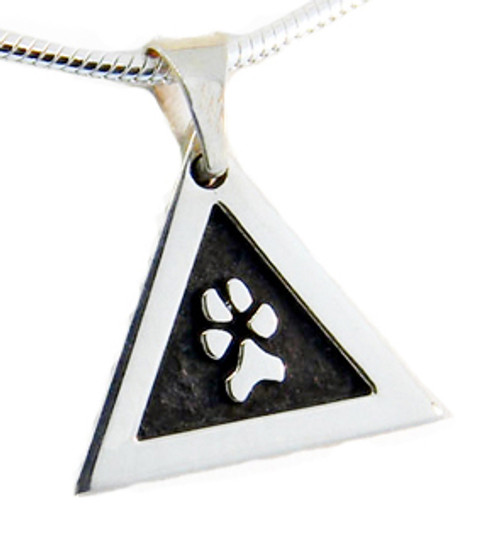 Great Paw Pendant with Raised Details and Custom Paw