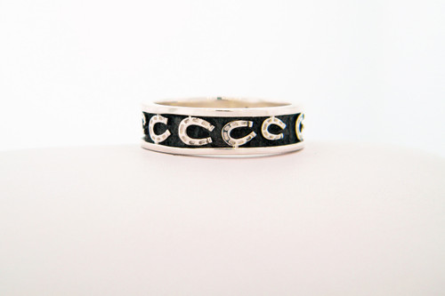 Journey Ring with Horseshoes