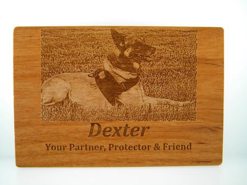 Wood Card - Custom