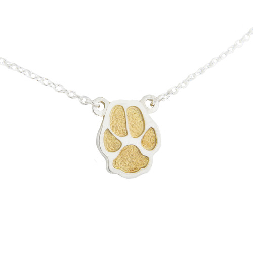 Custom Paw Necklace
