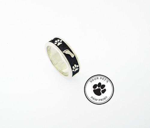 Bonding Ring with Custom Paws