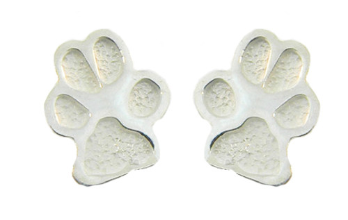 Custom Paw Post Earrings