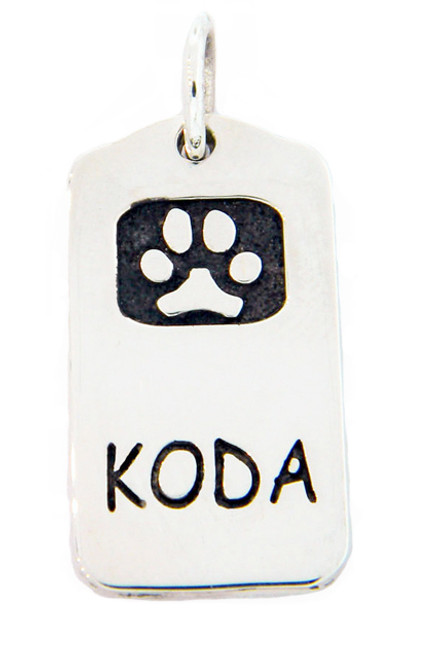 Loyalty Tag with Custom Paw