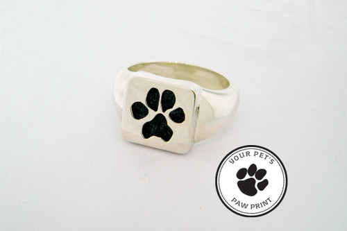 Single Paw Ring with Custom Paw