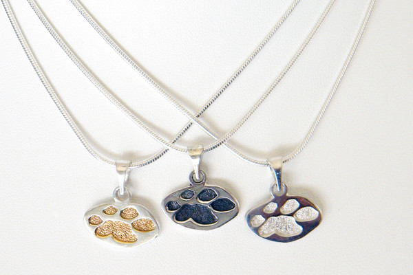 Single Paw Pendant