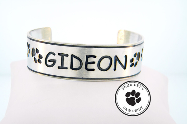 Companion Cuff with Custom Paw