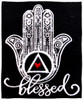 Embroidered Tshirt - Blessed