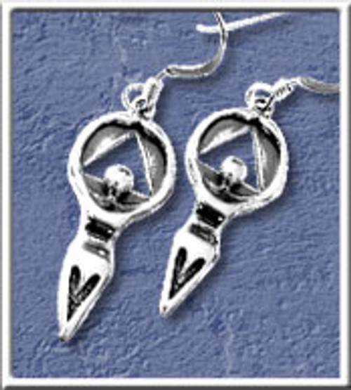 Woman in Recovery Lg Earrings