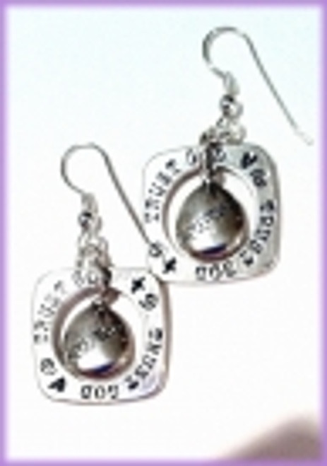 Acceptance Through God Earrings
