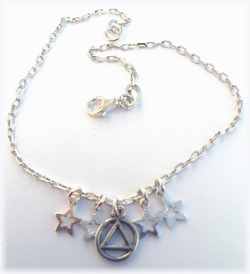 Circle Triangle Anklet