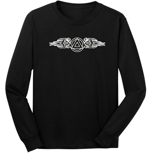 Tribal Flare Symbol Long Sleeve Tee