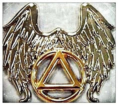Winged Symbol Lapel Pin
