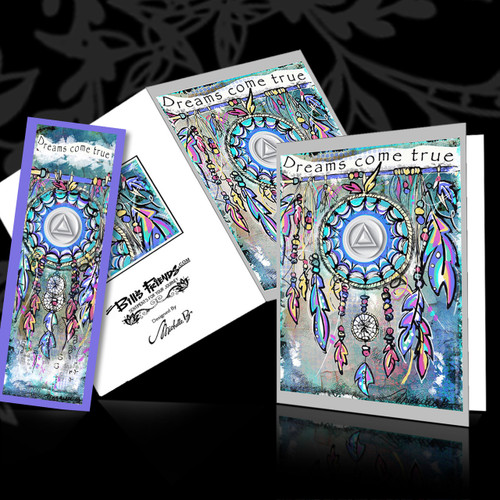 Greeting Card and Bookmark Combo - Dreams come true