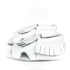 Leather Sandals - Coconut