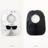 Embossed Vinyl Bib - Wayfarer Sunglasses