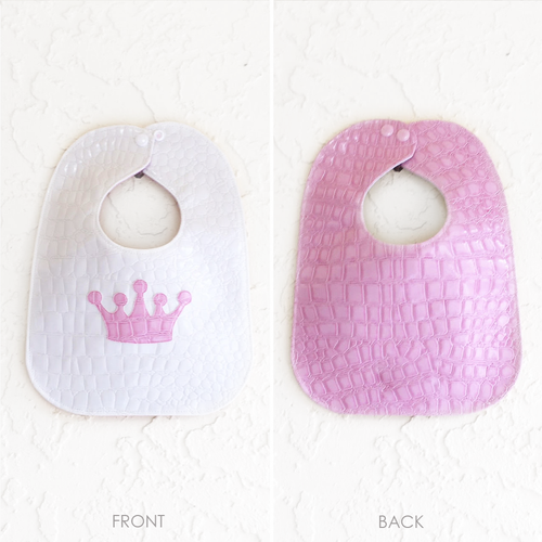 FRONT: Albino w/Bubblegum Crown BACK: Bubblegum
