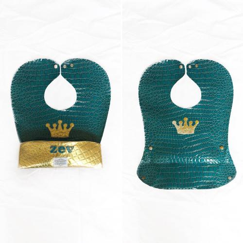 Toddler Bib - Crown