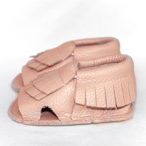 Leather Sandals - Pink Magnolia