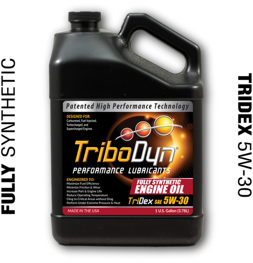 What Is Dexos Oil >> Tribodyn Patented 5w 30 Tridex Full Synthetic Engine Oil 1 Gallon 3 78 Liter Meets Or Exceeds Gm Dexos 1 Specs