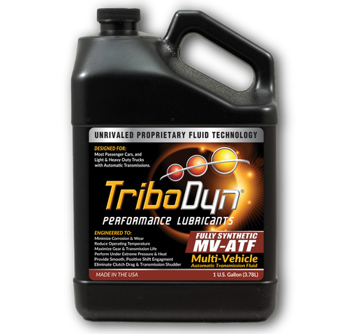 TriboDyn (Patented) ATF Fully Synthetic Multi-Vehicle ATF - 1 Gallon (3.78 Liter)