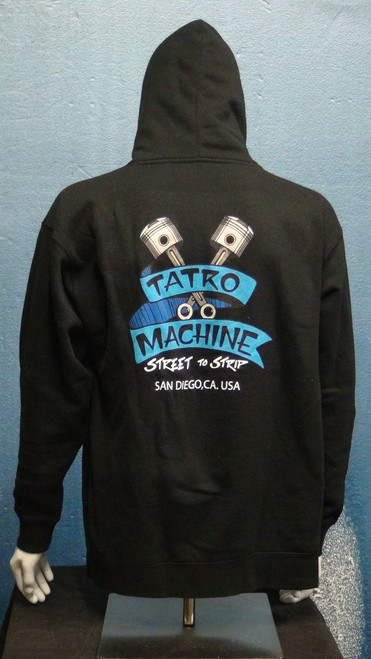 IBHD Independent Brand Pullover Hoodie Sweatshirt 10oz Heavy Weight with Large Back Tatro Machine logo