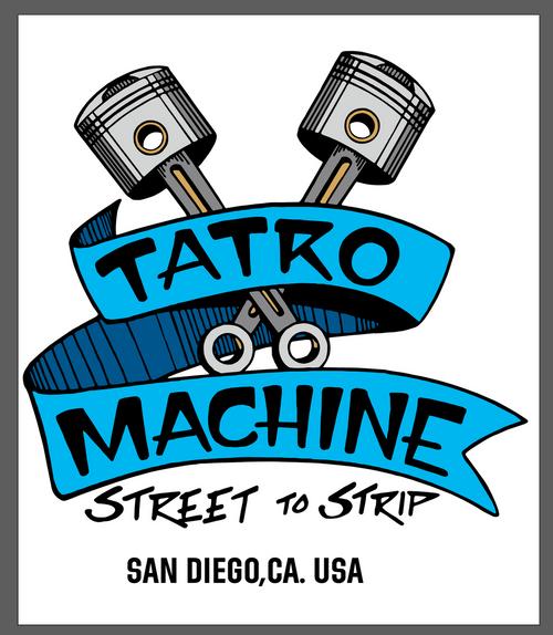 ALSS AlStyle Classic Short Sleeve T-Shirt 6oz 100% Cotton with Large Back Tatro Machine Logo