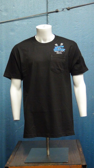 ALSSP AlStyle Classic Pocket Short Sleeve T-Shirt 6oz 100% Cotton with Large Back Tatro Machine Logo