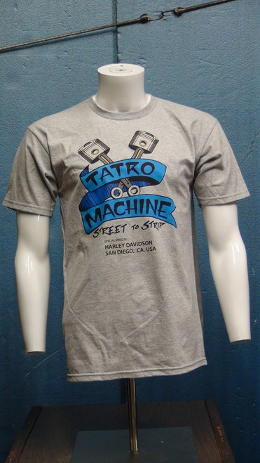 ALSSF AlStyle Premium Short Sleeve T-Shirt 5.5oz 100% Cotton with Large Front Tatro Machine logo