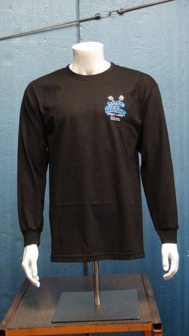 ALLS Alstyle Classic Long Sleeve T-Shirt 6oz 100% Cotton with Large Back Tatro Machine Logo