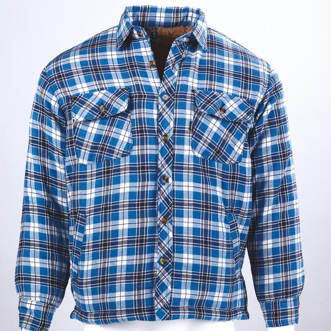 Pennine Fleece-Lined Shirt Shacket