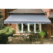 Deluxe Striped Easy Fit Cafe Awnings