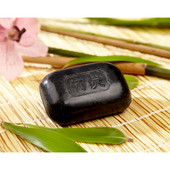 Pack of Three Japanese Bamboo Charcoal Soaps