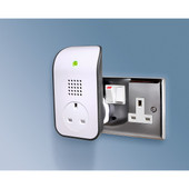 Wireless Plug-In Door Chime Additional Base Unit