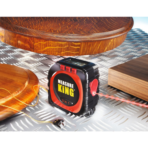 3-in-1 Measure King Sonic Tape Measure