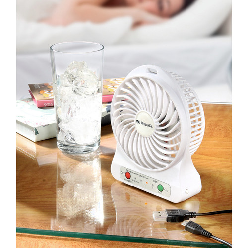 Mini Rechargeable Cordless Fan
