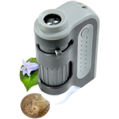 Pocket Size Microscope 120X
