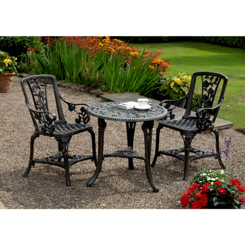Garden Furniture Set - Table & 2 Chairs
