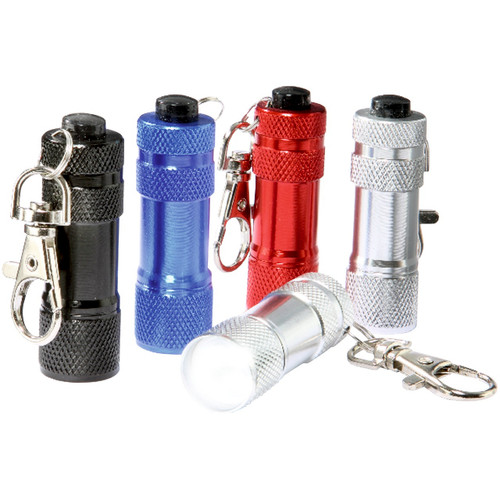 Keyring LED Torches with Clips Set of 5
