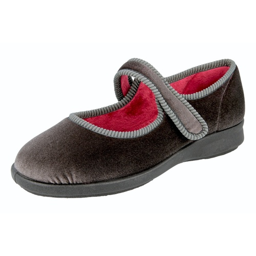 Whitby Touch Fastening House Shoes