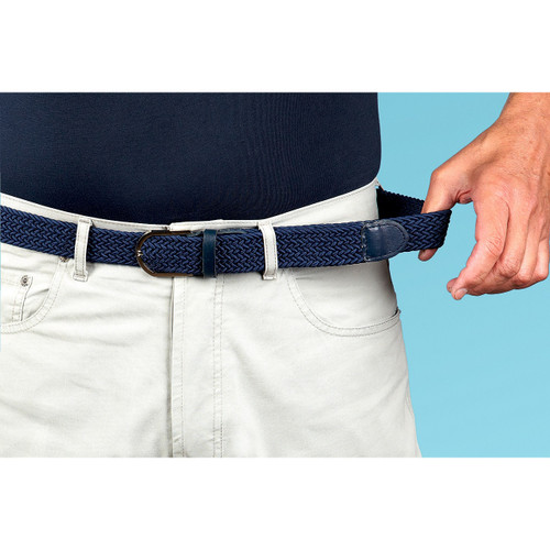 Mens Stretch Belts - Set of 4