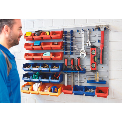 43 Piece Wall Mounted Storage System