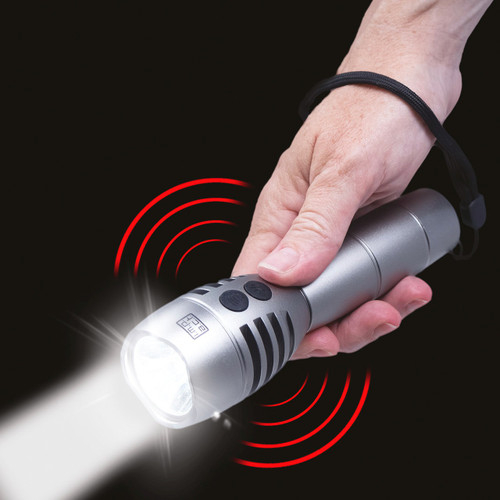 Rechargeable Personal Alarm Torch