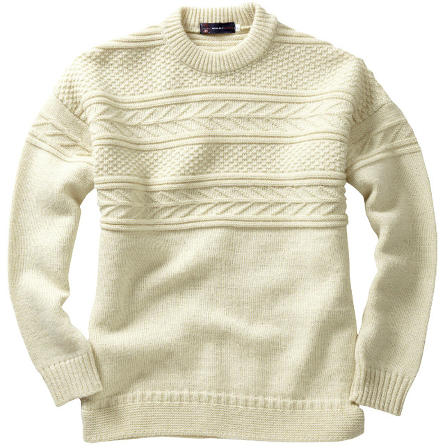 Pure British Wool Guernsey Sweater
