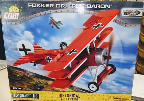 Fokker DR1 Red Baron