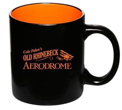 Orange/Black Mug- DM